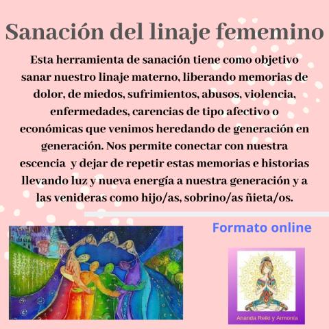 Sanación de útero materno – Linaje femenino – Curso Virtual