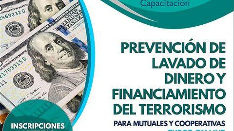 Prevención de Lavado de Dinero y Financiamiento del Terrorismo para Mutuales y Cooperativas – Curso Virtual