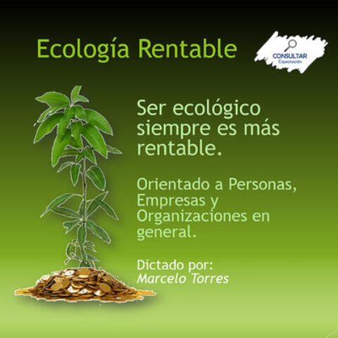 Ecología rentable – Curso Virtual